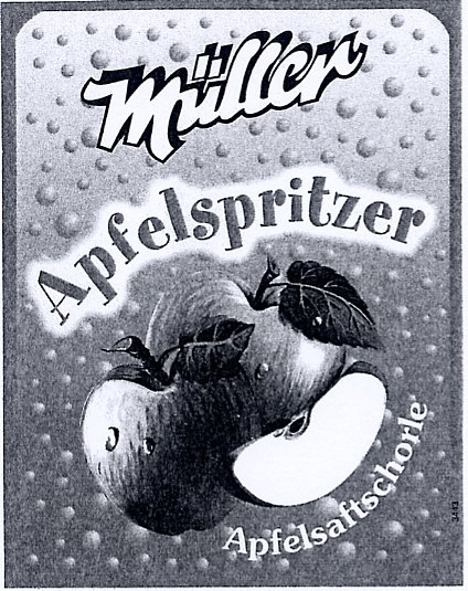 Müller Apfelspritzer
